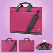 4 Color Waterproof High-Capacity Laptop Portable Shoulder Business Bag