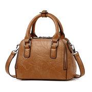 Femmes élégant PU cuir sac à main sacs à bandoulière Crossbody