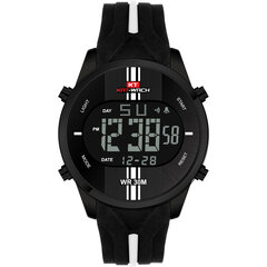 Fashion Men's Waterproof Silicone Strap Sports Watches Alarm Chronograph Wristwatch Military Clock