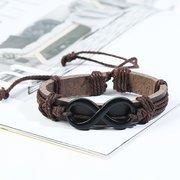 Многослойный браслет в стиле ретро Soft Кожаный браслет 6шт Винтаж Мужской браслет