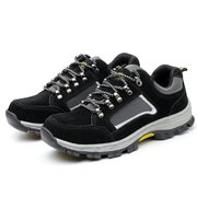 Men Anti Smashing Puncture Proof Safety Work Shoes