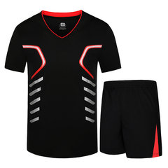 Mens Sommer Sport Casual Anzüge Trocknen schnell Breathable T-Shirts Training Laufen Shorts