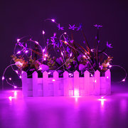 5M 50 LED USB filo d'argento flessibile stringa fata luce Chrismas Wedding Party Home Decor