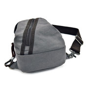 Vintage Canvas Chest Borsa Travel Crossbody multifunzione Borsa per uomo