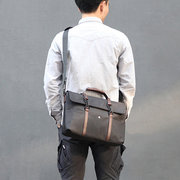Men Business Laptop Handbag Official Crossbody Bag