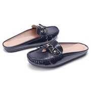 Mulheres Daily Comfy Butterfly Knot Fechados Toe Flats Chinelos