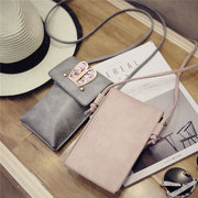Lovely Cute PU Leather Rabbit Ear Decoration Shoulder Bag Phone Bags