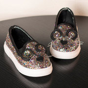 Girls Bling Sequined Upper lovely Comfy Flat Shoes