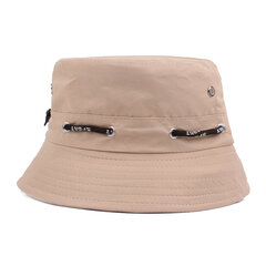 Women Unisex Summer Foldable Breathable Lovers Fisherman Hats Casual Travel Sunscreen Bucket Hat