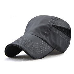 Mens Womens Ultra-thin Breathable Quick-drying Nylon Dad Hats Baseball Cap Outdoor Casual Carved Hat