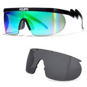 Polarisierte Herren-Sonnenbrille von Chameleon mit austauschbaren Gläsern und 100% UV-Schutzbrille