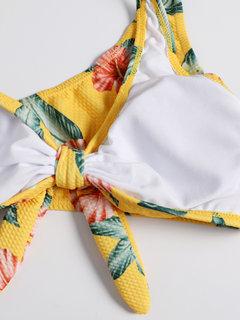 Sexy Bikinis Badeanzüge Krawatte Schrift Single Straps String Damen Badeanzug