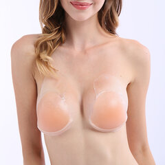 Sexy Front Closure Silicone Backless Strapless Self-adhesive Bras