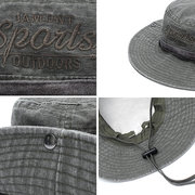 Hommes Sports de plein air Coton Printemps Eté Fishmen Hat Visières Casual Cap respirant