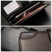 Business Pu Clutch Bag 21 Card Holders Coin Bag Phone Bag For Men