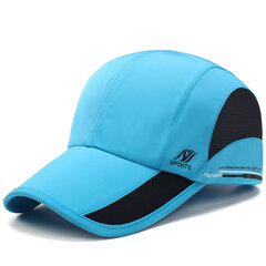Mens Women Outdoor Sports Waterproof Quick-dry Hat Casual Visors Breathable Baseball Caps