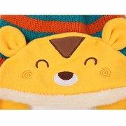 Mädchen Jungen Baby Kleinkind Winter Mütze Warm Hut Mit Kapuze Schal Strickwolle Mütze