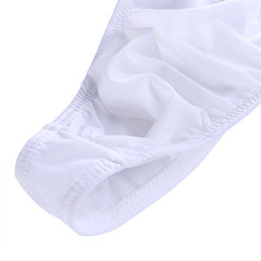 Mens Ultra Thin Ice Silk High Elasticity Sexy Underwear Thongs