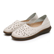 Hollow Out Breathable Multi-Way Flats