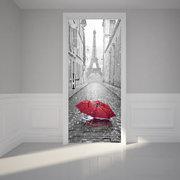 3 stili 200X77CM scala 3D PVC Adesivo autoadesivo in PVC Eiffel Tower Wall Sticker Decorazione murale decorativa da soggiorno