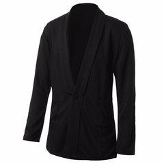 Casual One Bouton De Luxe D'hiver Outwear Élégant Veste Costume Manteaux Pour Hommes