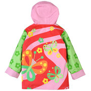 Waterproof Trench Coat Girls Boys Raincoat Jacket Windbreaker For 2Y-9Y