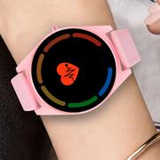 Mode Lederband Frauen Smart Watch 2.5D Bildschirm Sprachsteuerung Blut Pressue Bluetooth Anruf