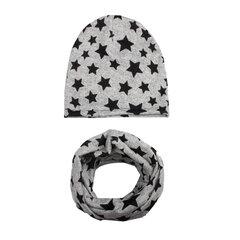 Cool Boy Print Hut Schal-Set für 0-4 Jahre