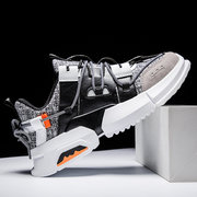 19th Season New Men's Fashion Week With The Same Paragraph Sports Shoes Trend Breathable Casual Shoes Retro Fashion Men's Shoes