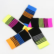Mens Breathable Wicking Bicycle Sports Socks Deodorant Compression Running Basketball Socks