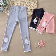 Girl Leggings Cotton Trousers Pants