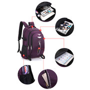 Women Oxford Large Capacity Waterproof Backpack Shoulder Bag