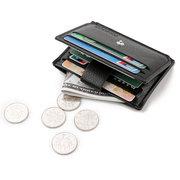 PU 7 Card Slot Portafoglio casuale Business Coin Borsa Borsa per gli uomini