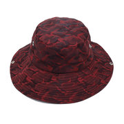 Men Women Cotton Camouflage Fisherman Hat Outdoor Climbing Breathable Sunshade Cap