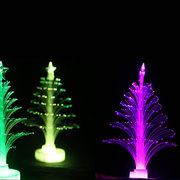 Colorful LED Fiber Optic Christmas Tree Light For Festival Party Decoration Nightlight