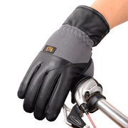Mens Motocycle Cycling Full Finger Touch Screen Gloves Outdoor Sport Windproof Warm Thick Gloves