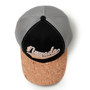 NUZADA Mens Embroidery Cotton Mesh Breathable Hat Windproof Outdoor Casual Wild Baseball Cap