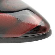 Мужчины Classic Кружевные цветочные лакированные туфли