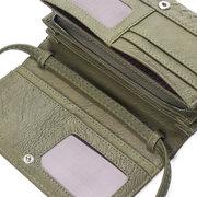 Женская сумка ручной работы Многофункциональный длинный кошелек 8 слотов для карт памяти