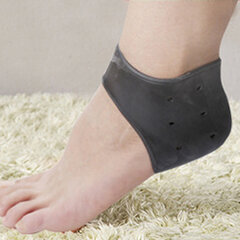 Compression Heel Sleeves Socks Foot Ankle Pain Relief for Plantar Fasciitis Spurs Pads Cracked Heel