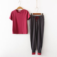 Fashion Casual Suit Donna Hipster Style New Temperament T-shirt Bloom Pants Due set di marea G1862