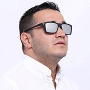 Lunettes de soleil carrées d'extérieur durables et légères UV-400 pour hommes, polarisées