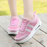 Breathable Mesh Platform Casual Shoes For Women
