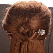 Ethnique Fleur Épingles à Cheveux Vintage Argent Or Couleur Perle Charme Accessoires de Cheveux Chapeaux pour Femmes