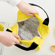 Large Capacity Waterproof Oxford Picnic Ice Bag Insulated Handbag Food Storage Container