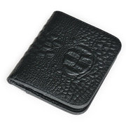 Crocodile Cowhide Wallet Vintage Casual Short Wallet For Women