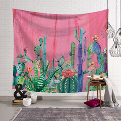 150*130/203*150 cm Cactus Pattern Wall Hanging Tapestries Home Decor Towel