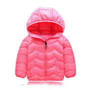 Girls Boys Lightweight Downs Parkas Kids Winter Coat For 3Y-11Y