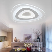 Modern Ultrathin LED Lampe Flush Mount Deckenleuchte Mango 3-Color Einstellbar