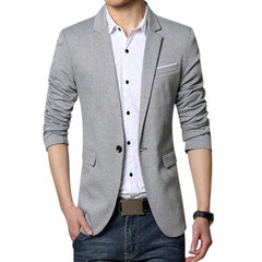 Business Sottile Fit Casual Spring Comfortable Soft Best Cool Blazer per uomo